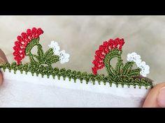 Bakmaya Doyamayacaksınız Çeyizlik Tığ Oyası-Elişi Dünyam - YouTube Creative Embroidery, Create, Google, Crochet Decoration, Crochet Flowers, Knitting And Crocheting, Tricot, Color Schemes, Hairstyle Man