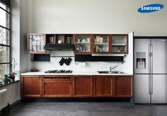 La elegancia también puede estar en la cocina, así es el #T9000 de Samsung.