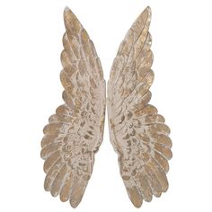 A stunning pair of heavy antique-style angel wings. These angelic wings have unrivalled charm and will look gorgeous hanging over any bed or living room sofa to evoke a taste of grandeur. Wooden Angel Wings, Angel Wings Wall Art, Wing Wall, Contemporary Style Homes, Jellycat, Touch Of Gold, Looking Gorgeous, Decorative Accessories, Carving