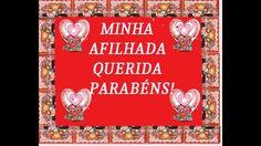 MENSAGEM DE ANIVERSARIO*AFILHADA*