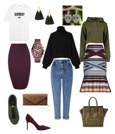 """Капсула"" by renata-r85 on Polyvore featuring мода, Gucci, FOSSIL, SWEAR, Miss Selfridge, CHARLES & KEITH, Boohoo, Diesel, Hervé Léger и WearAll"