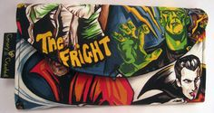 Retro Horror Movie Wallet Retro Movie Horror by CanaryCreated, $30.00