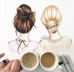 Best friend drawing Más #best_friend_drawing