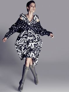 Sunday Style Australia Editorial November 2014 - Coco Rocha by Darren McDonald