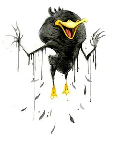 Daffy-Duck-monster-alex-pardee
