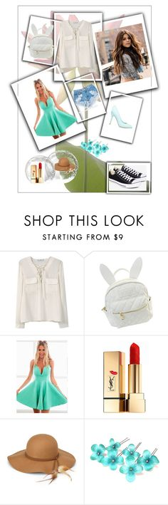 """TBdress Reviews"" by tbdressreviews ❤ liked on Polyvore featuring MANGO, cutekawaii, Levi's, ShoeDazzle, Yves Saint Laurent, Steve Madden and Converse"