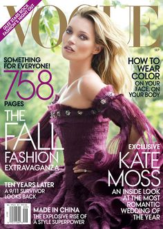 Kate Moss - I want to get married in this colour...