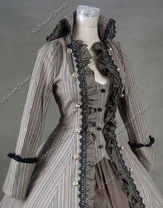 Renaissance Gothic Lolita Cotton Blends Dress Ball Gown Reenactment