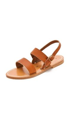 Really want these for summer: K. Jacques Barigoule Flat Sandals