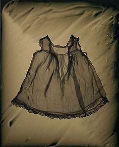 Susan Seubert ~ Dress-O-Gram #7, 2005, tintype, 20 x 16 inches via josephbellows.com