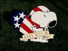 America Snoopy