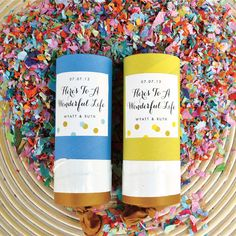 Handmade Confetti Launchers from My Own Ideas blog #craft #diy #party #favor #kids #wedding