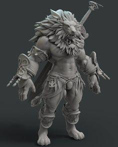 3d Model Character, Character Creation, Character Art, Creature Feature, Creature Design, Zbrush, Imprimente 3d, Anatomy Sculpture, 3d Art Drawing