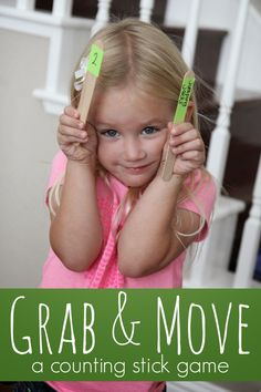 Toddler Approved!: Counting Movement Stick Game for Kids