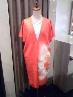 Silk Kimono Dress designed by Hinami www.kyoto-hinami.jp