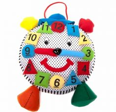 For Kids: This friendly, fair trade Learn to Count Clock is a toddler essential. A great alternative to braving the local superstore's toy aisle. #FairTuesdayGifts