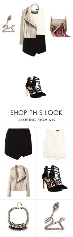 """""""Untitled #1064"""" by elenekhurtsilava on Polyvore featuring H&M, Steve Madden, Nocturne, Joëlle Jewellery and Chloé"""