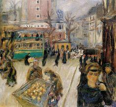 Montmartre, 1905  par  Pierre Bonnard (1867-1947)  Collection privée