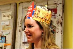 DIY Crown : DIY Paper crowns for a royal affair A Royal Affair, Diy Crown, Paper Crowns, Paper Source, Diy Paper, Diy Tutorial, Things To Think About, Beads, Cord
