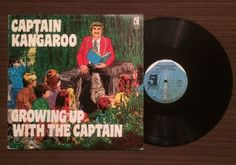 "Captain Kangaroo ""Growing Up With the Captain"" Children's LP 1980 CBS RARE NM"