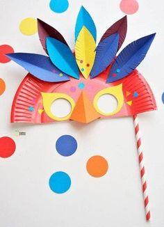 25 Mascaras de Carnaval para crianças - Aluno On