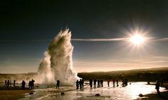 Strokkur geyser Iceland geyser 2016
