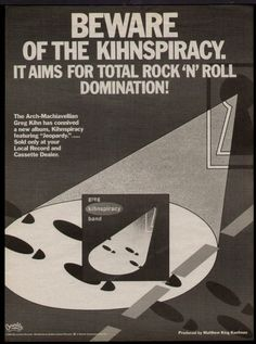 The Greg Kihn Band Promotional Ad https://www.facebook.com/FromTheWaybackMachine