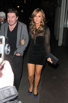 Chanelle Hayes Hard Case Clutch - Chanelle Hayes Looks - StyleBistro