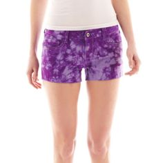 Arizona Raw-Cuff Shorts  found at @JCPenney