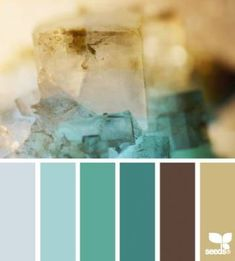 crystal tones Color Palette by Design Seeds Design Seeds, Colour Schemes, Color Combinations, Colour Palettes, Pantone, Color Palate, Bathroom Colors, Kitchen Colors, Bathroom Ideas