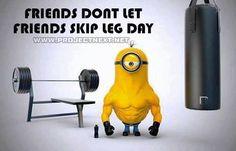 Don't Skip #LegDay! #Motivation #BodyBuilding
