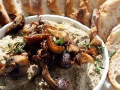 Yes, Mushroom Pate. You are invited to the next party.