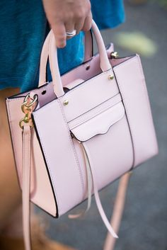 Rebecca Minkoff MAB Mini Tote in Quartz