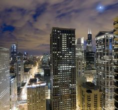 Chicago Loop at Dusk ...#Chicago #Windy City #Illinois