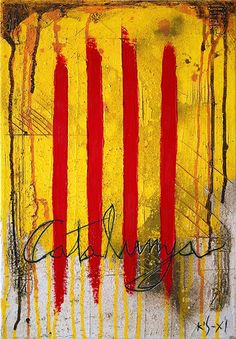 Diada Nacional de Catalunya. Pintura de Jordi Sanahuja  #setdimatge 10/08/2015 http://web.gencat.cat/ca/actualitat/reportatges/diada-nacional-de-catalunya/  (scheduled via http://www.tailwindapp.com?utm_source=pinterest&utm_medium=twpin&utm_content=post9222688&utm_campaign=scheduler_attribution)