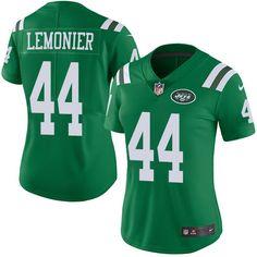 5023d27071a Women's Nike New York Jets #44 Corey Lemonier Limited Green Rush NFL Jersey  Cardinals Jersey