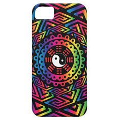 Yin Yang Tie-dye Mandala iPhone 5 Covers