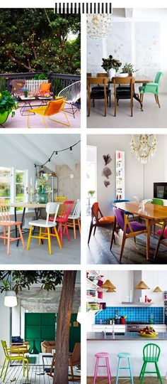 Mix & Match Chairs