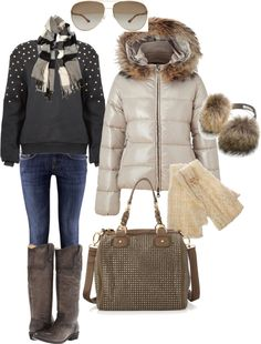 """Apres ski outfit"" by kerisrunway on Polyvore"