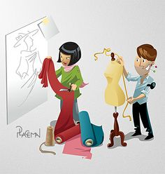 Fashion designed by Pascal Placeman. the global community for designers and creative professionals. Disney Characters, Fictional Characters, Family Guy, Stylists, Guys, Disney Princess, Creative, Fashion Design, Image