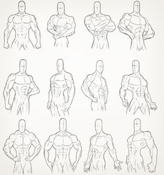 Male Torso Drawings by Juggertha on deviantART