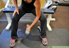How to Get Fit in the Gym: 10 Steps (with Pictures)
