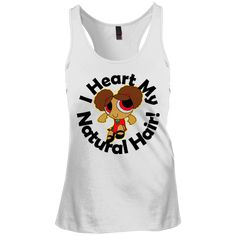 "Checkout the latest from Merch Mastery! ""I Heart My Natur... click here! http://merchmastery.com/products/i-heart-my-natural-hair-juniors-racerback-tank-top-1?utm_campaign=social_autopilot&utm_source=pin&utm_medium=pin"