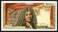 French Franc, Money Notes, Literature, Baseball Cards, Banknote, Paris, Stamps, Auction, Memories
