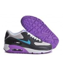 buy online dddd0 4b76b Air Max 90 Essential Dark Grey Turquoise Purple Trainer Outlet