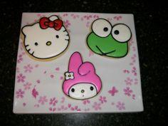 Hello Kitty, Keroppi and My Melody Sugar Cookies
