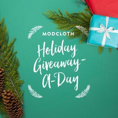 ModCloth is giving away 8 $100 gift certificates a day! Play now & see if you're an instant winner. Get a shot to win your wishlist, too! End date: 12/11/15