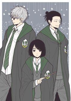 Harry Potter Anime, Anime Crossover, Anime Artwork, Light Novel, Aesthetic Art, Hogwarts, Anime Characters, Animation, Fan Art