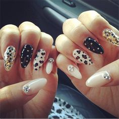 These Day Its All About Stiletto Nails | See more nail designs at http://www.nailsss.com/... | See more nail designs at http://www.nailsss.com/acrylic-nails-ideas/2/