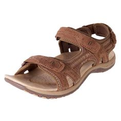 Best padded cushioned sandals fully adjustable, arch support flat leather travel holiday walking sandals - Leather Sport Sandals Prance Brown | buy Planet Shoes Online | The Shoe Link